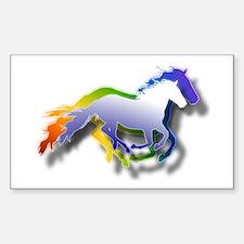 Running Sticker (Rectangle)