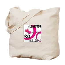 Cute Bullsh Tote Bag