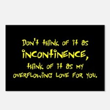 Incontinence Postcards (Package of 8)