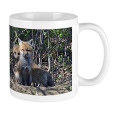 Red Fox kits Mug