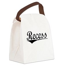 Recess, Aged, Canvas Lunch Bag