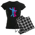 Simply Dance Women's Dark Pajamas
