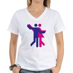 Simply Dance Women's V-Neck T-Shirt
