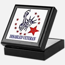 Disabled Veteran Keepsake Box