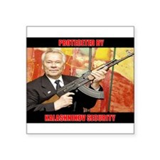 Kalashnikov Security Sticker