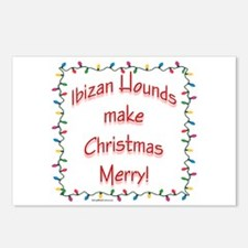 Merry Ibizan Postcards (Package of 8)