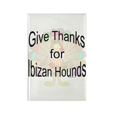 Thanks for Ibizan Rectangle Magnet