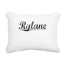 Rylane, Aged, Rectangular Canvas Pillow