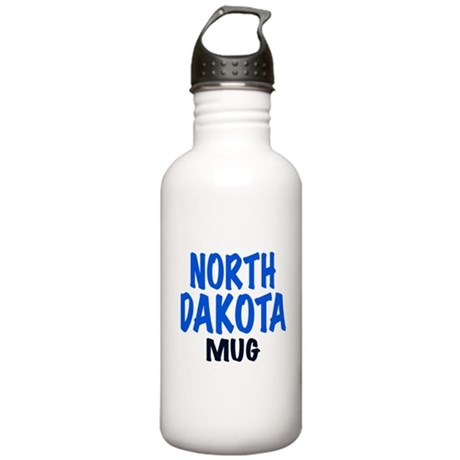 NORTH DAKOTA MUG Stainless Water Bottle 1.0L