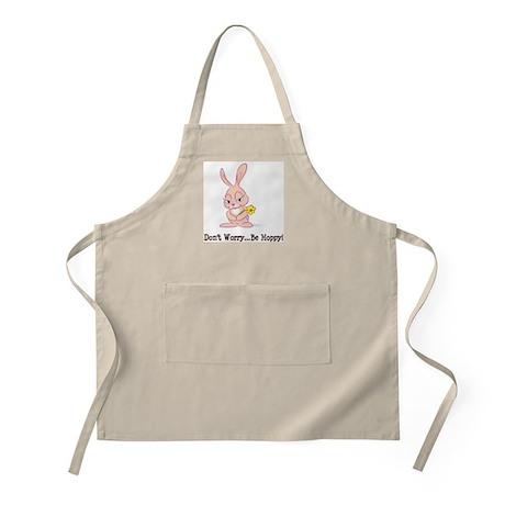 Be Hoppy Bunny BBQ Apron