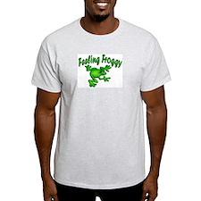 Feeling Froggy Ash Grey T-Shirt
