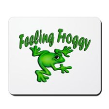 Feeling Froggy Mousepad
