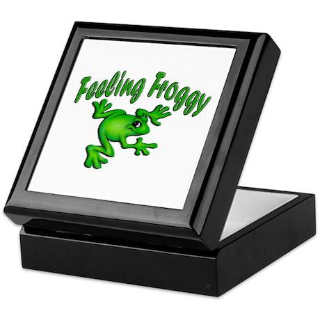 Feeling Froggy Keepsake Box