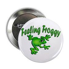Feeling Froggy Button