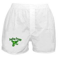 Feeling Froggy Boxer Shorts