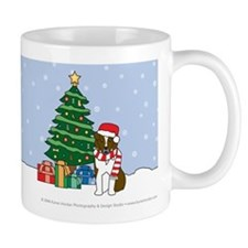 Red Australian Shepherd Christmas Mug