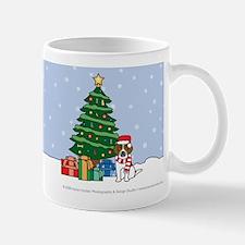Beagle Xmas Tree Mug