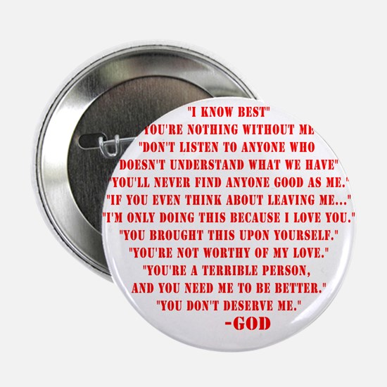 "God quotes 2.25"" Button"
