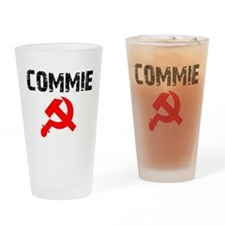 Commie Drinking Glass