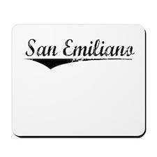 San Emiliano, Aged, Mousepad