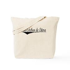San Esteban de Litera, Aged, Tote Bag