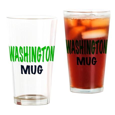 WASHINGTON MUG, funy Washington gifts. Drinking Gl