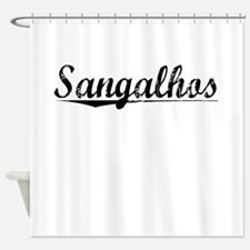 Sangalhos, Aged, Shower Curtain