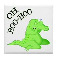 Crocodile Tears Tile Coaster