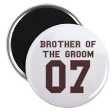 Brother of the Groom 07 Magnet