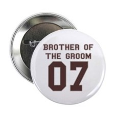 Brother of the Groom 07 Button