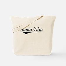 Santa Cilia, Aged, Tote Bag