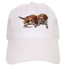 Two Beagles Baseball Cap