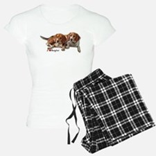 Two Beagles pajamas