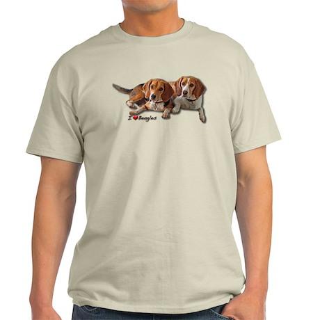 Two Beagles Light T-Shirt