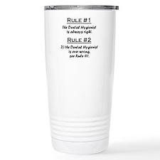 Cute Database manager job Travel Mug