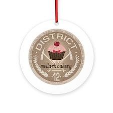 Mellark Bakery Ornament (Round)