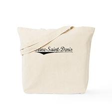 Seine-Saint-Denis, Aged, Tote Bag