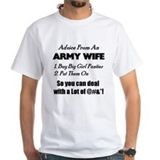Advice Army Wife Shirt