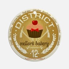 Mellark Bakery Ornament (Round)