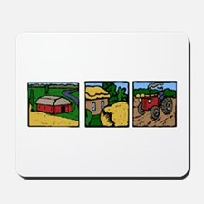 Farmland Triple Print Mousepad