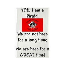 PartyPirate2a.jpg Rectangle Magnet (10 pack)