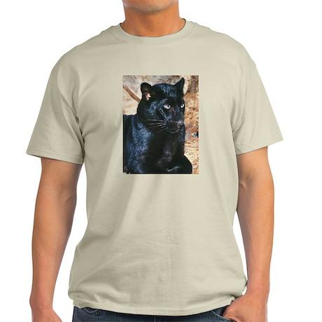Black Leopard Portrait T-Shirt