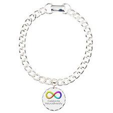 Celebrate Neurodiversity Charm Bracelet, One Charm