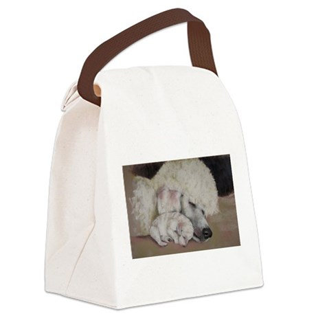 mombub5.png Canvas Lunch Bag
