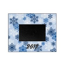 2013 Holiday Winter Snowflake Photo Picture Frameb