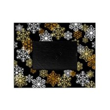 Winter Snowflake Holiday Photo Picture Frameg