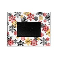 Winter Holiday Snowflake Picture Frame -W