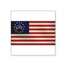 1776 Flag Rectangle Sticker