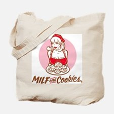 MILF and Cookies Tote Bag