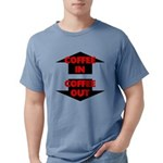 Coffee In Coffee Out Mens Comfort Colors Shirt